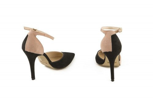 Large size heeled pump 4 Passi
