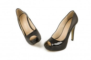 High heel and platform peep...