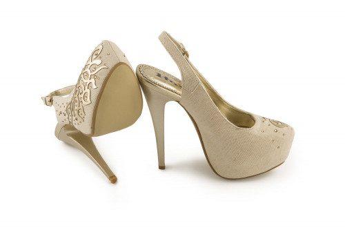 Slingback high heel and...