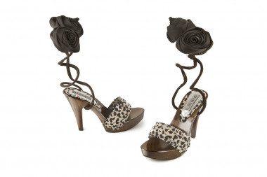 High heel clog sandal Gioie...