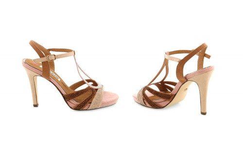 High heel t-bar sandal...