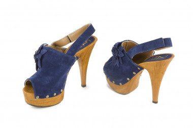 High heel platform clog...