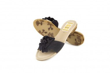 Suede slide on sandal 4 Passi