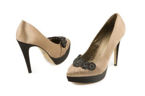 High heeled pump Menbur