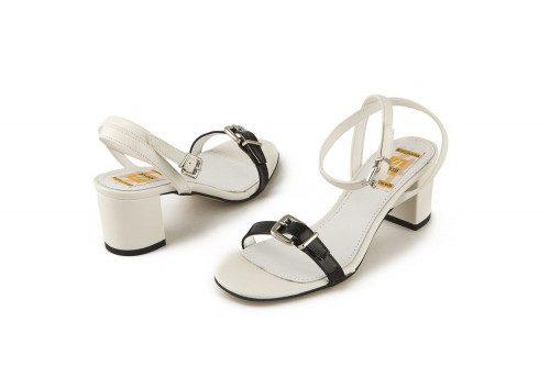 Mid block heel sandal 4 Passi