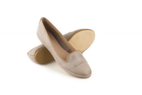 Flat slip on moccasin 4 Passi