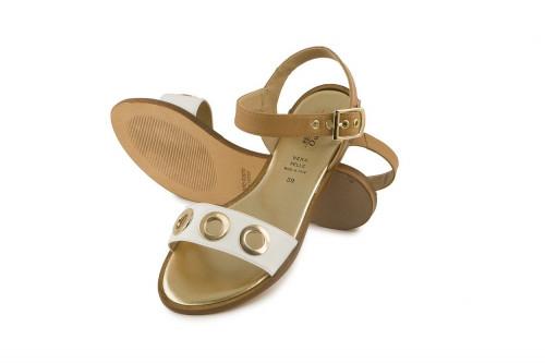 Ankle strap flat sandal...