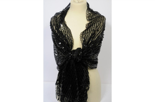Evening scarf stole with...