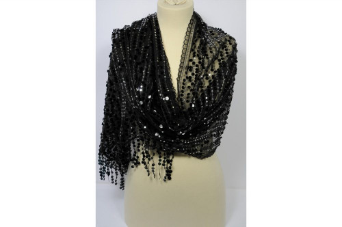 Elegant scarf stole with...