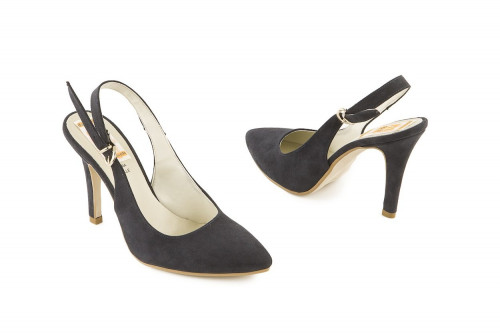 High heel slingback pump 4...