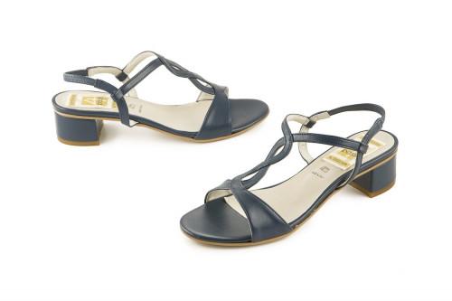 Block low-heel sandal 4 Passi