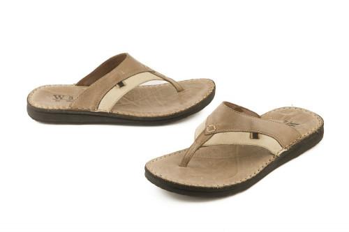 Bicolor slide sandal Walk...