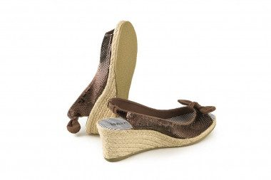 Espadrille rope mid wedge...