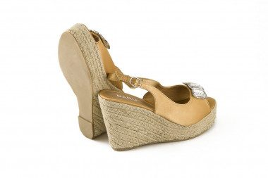 Espadrille rope wedge...