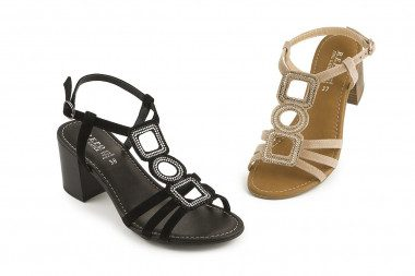 Comfy sandal with...