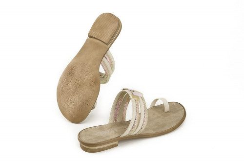 Flat toe-post slide on Cerutti