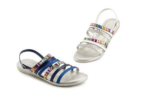 Sandalo colorato con...