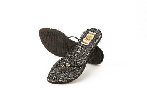 Rhinestone low heel...