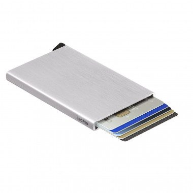 Aluminium credit card...