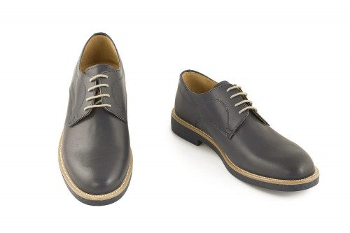 Smooth leather shoe 4 Passi
