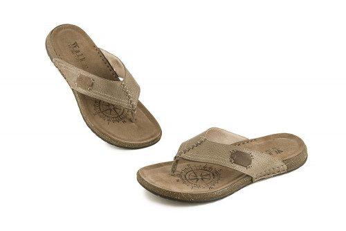 Leather thong sandal Walk...