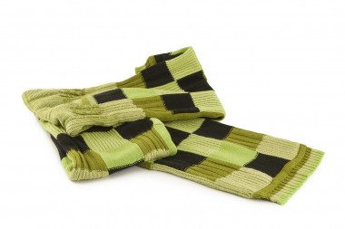 Knit double-face scarf 4 Passi