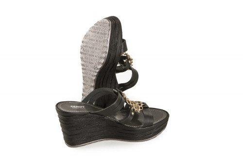 Summer wedge slide sandal...