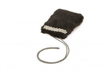 Small rabbit fur handbag...