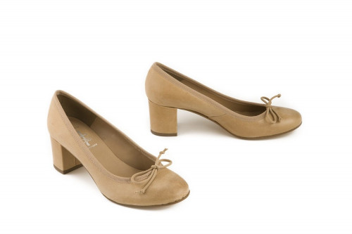 Special sizes heeled ballet...