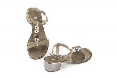 Sandalo misura grande tacco...